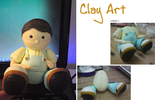 My Clay Art Class @ 2nd Lesson