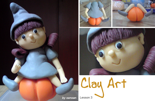 My Clay Art Class @ 3rd Lesson