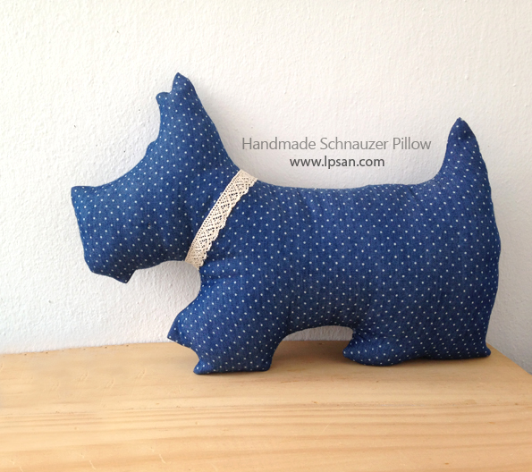 How to make Schnauzer Pillow?